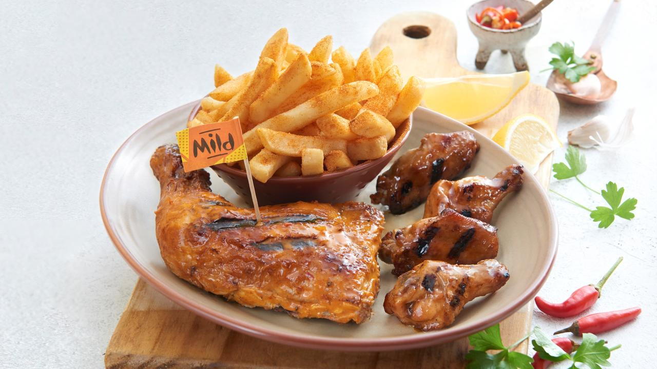 Nando's once had more than 270 restaurants in Australia.