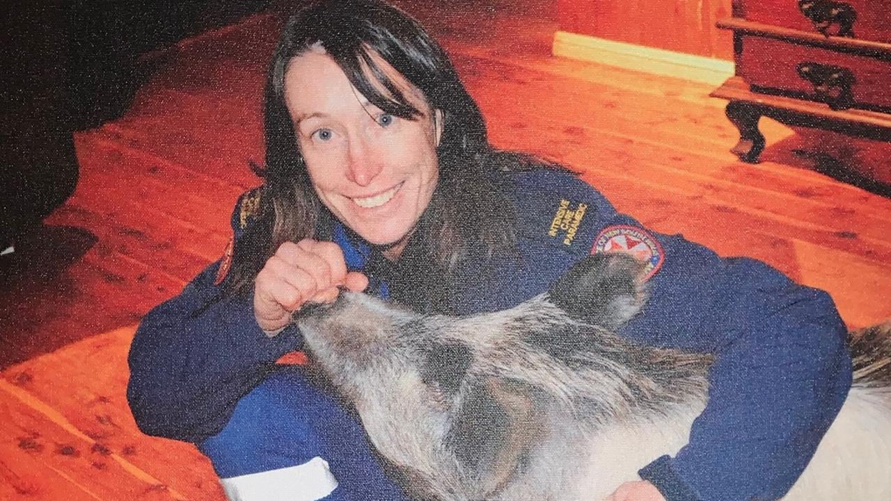 Dearne Fulcher, an experienced paramedic killed in freak accident after high winds up-ended a large tree. Picture: Supplied