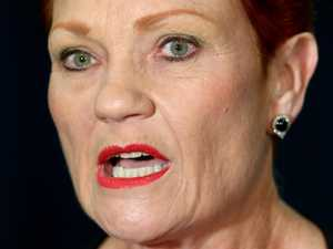 Hanson's whinge at flight announcement