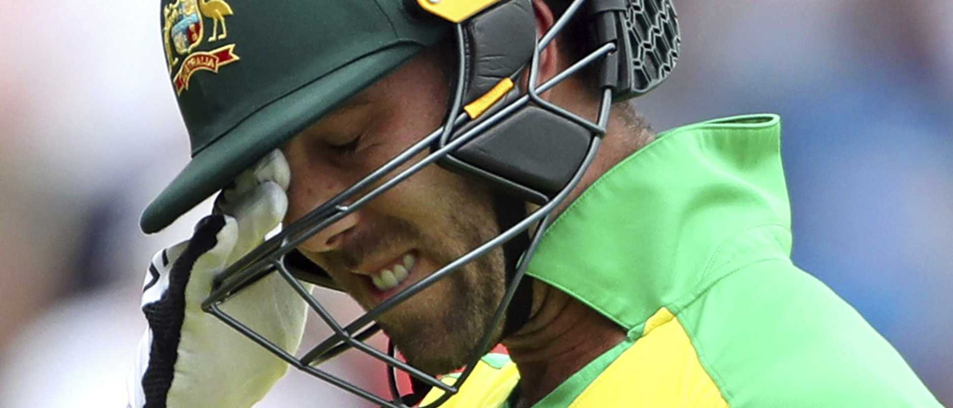 Glenn Maxwell was among those to fail.