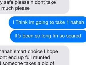 Haunting texts reveal woman's fatal plan