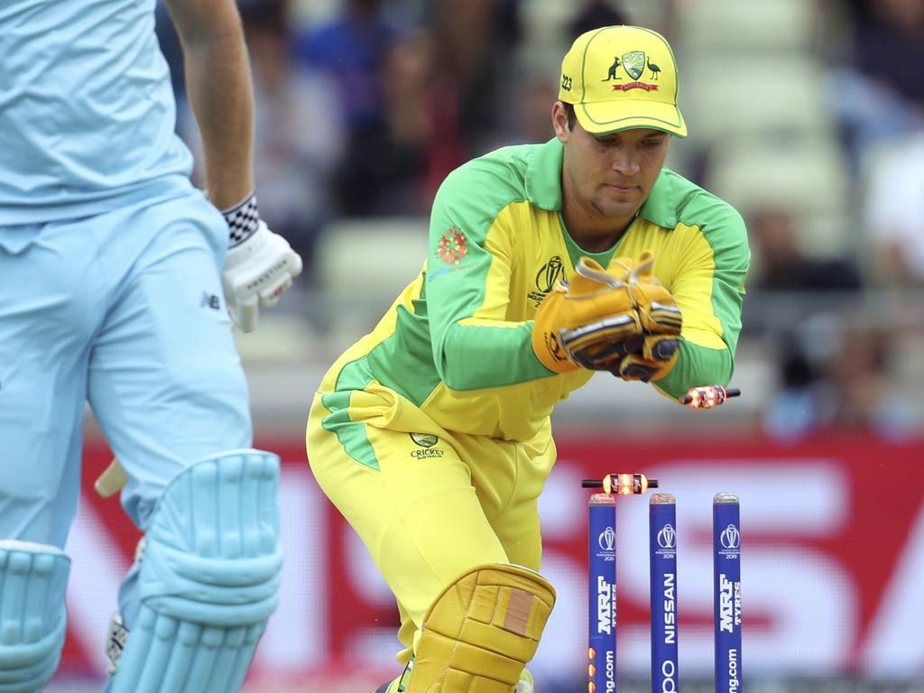 Carey will now sink his teeth into red-ball cricket. Pic: AP