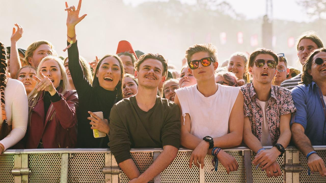 Festival goers soak up the atmosphere at the 2018 Splendour In The Grass. The NSW Office of Fair Trading says that if the terms and conditions of an event prevent you reselling your ticket under any circumstance, then you should contact them. Picture: Supplied