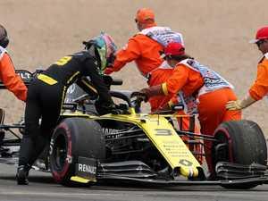 'RIP': Ricciardo's engine dies at British GP