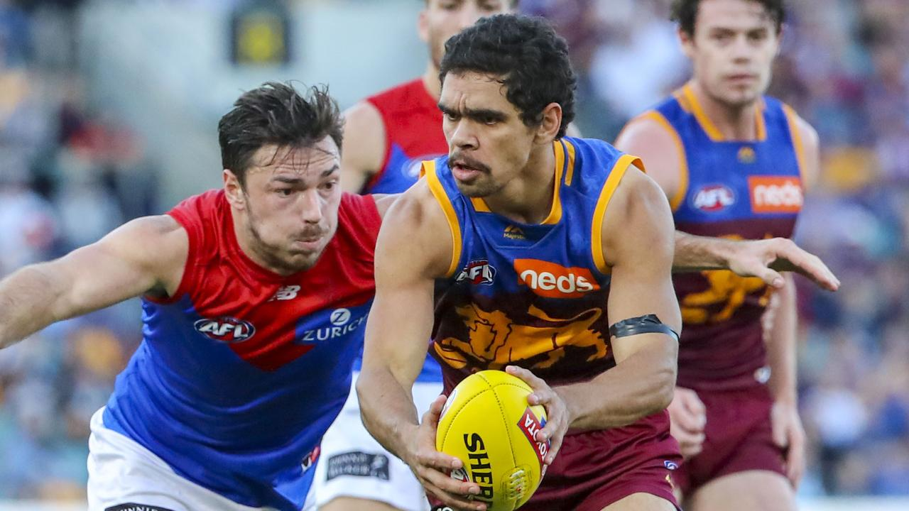 Brisbane Lions small forward Charlie Cameron has 29 goals for the season. Picture: AAP