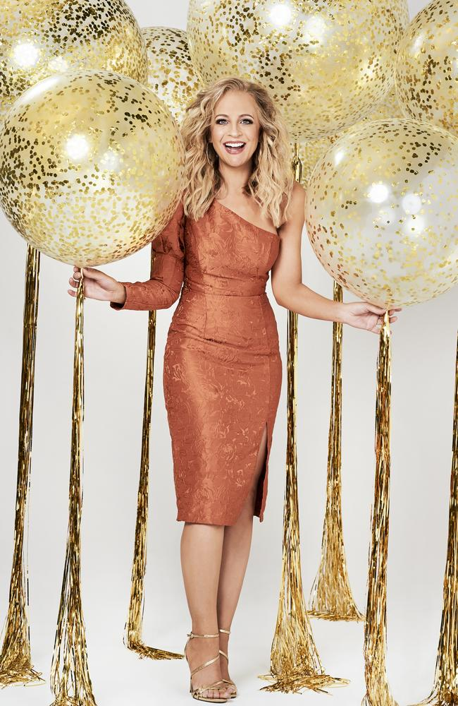 Carrie Bickmore celebrates 10 years of The Project. Picture: Supplied