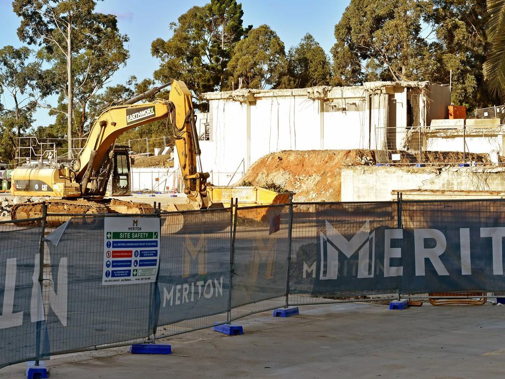 The Meriton development on Talavera Rd at Macquarie Park.