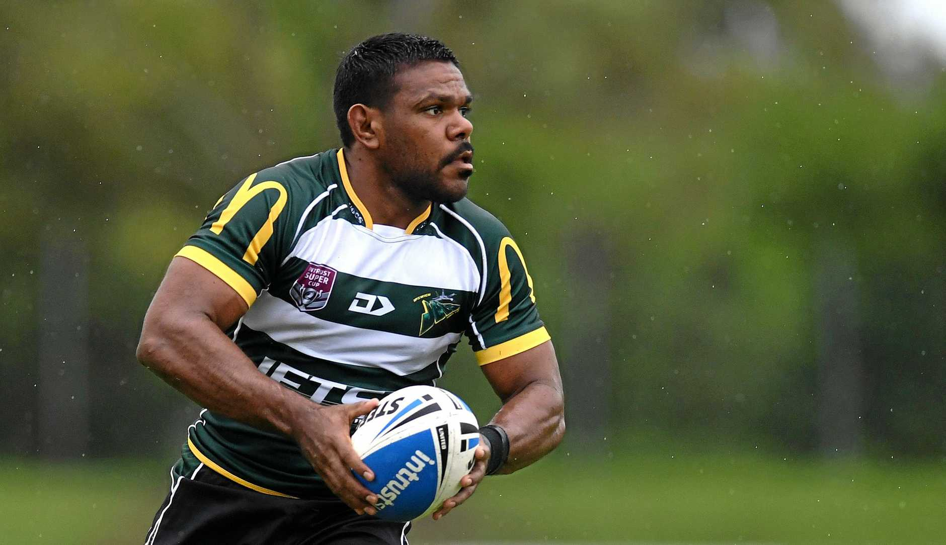 LIVEWIRE: Kierran Moseley scooted 15 metres and diver over for a four-pointer against Easts.