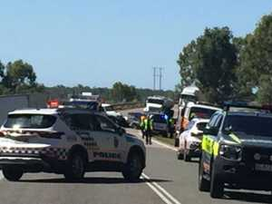 Bruce Highway closed after fatal crash