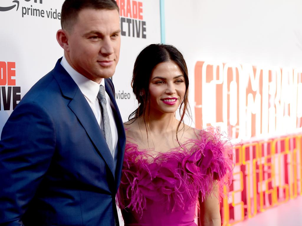 Channing Tatum and Jenna Dewan met on the set of the film Step Up. They have one daughter together. Picture: Getty