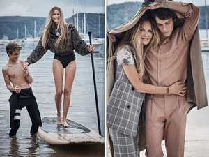Coming of age: Elle reintroduces her boys to Australia