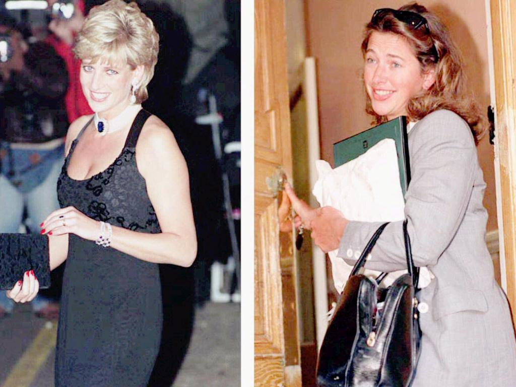 Diana's remark was pointed and for her, quite out of character. But not when it came to Tiggy Legge-Bourke, whose name had long been mentioned amid rumours Prince Charles was having an affair. Picture: AP
