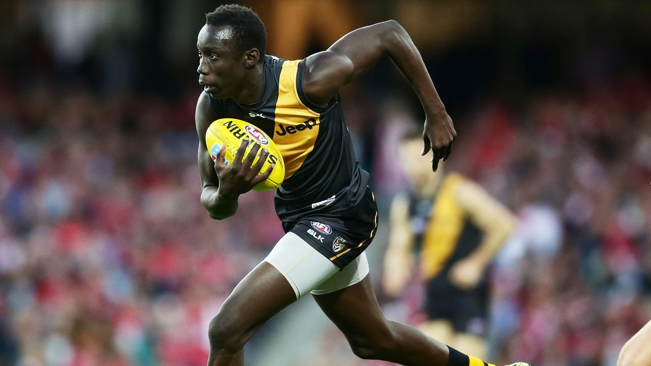 Chol has plenty of dash. Picture: Getty Images