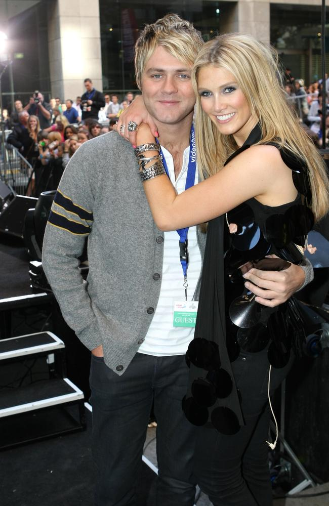 Kerry's ex Brian McFadden went on to become engaged to Aussie singer Delta Goodrem.