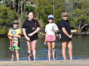PHOTOS: Perfect weather to wet a line for fishing comp