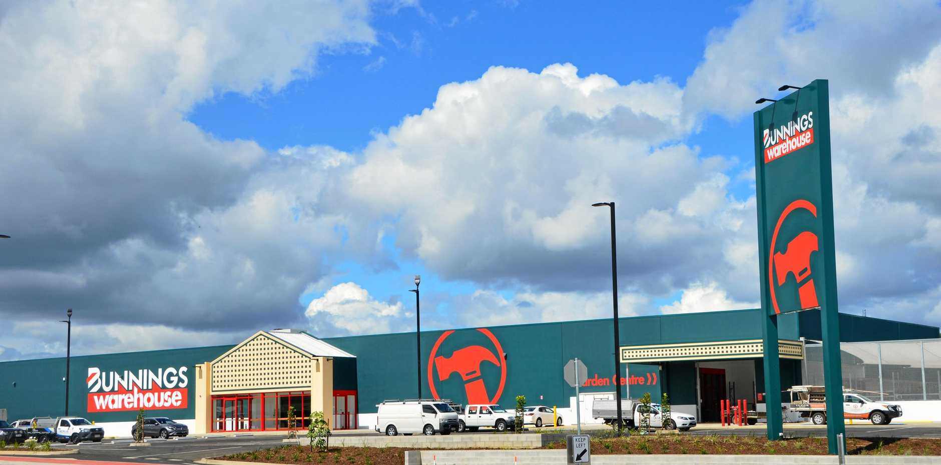 Opening day for Bunnings Warehouse Kingaroy is fast approaching.