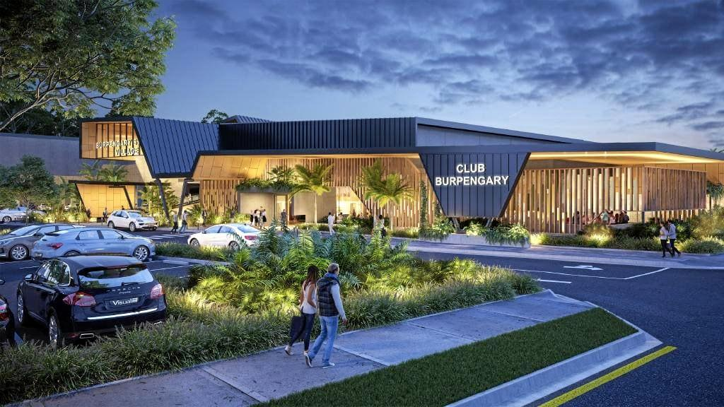 CLUB EXPANSION: Concept images of the proposed $40 million Burpengary Community Club, north of Brisbane. The Hervey Bay RSL has reached a lease agreement with developers on the project.