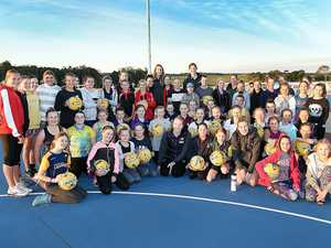 Lightning strikes Hervey Bay netballers on the Fraser Coast