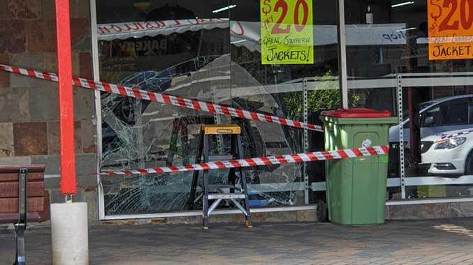 Boozing before bread, milk run and shop window smash