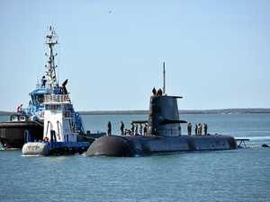 PHOTOS: Aus Navy sub's quick stopover in Gladstone
