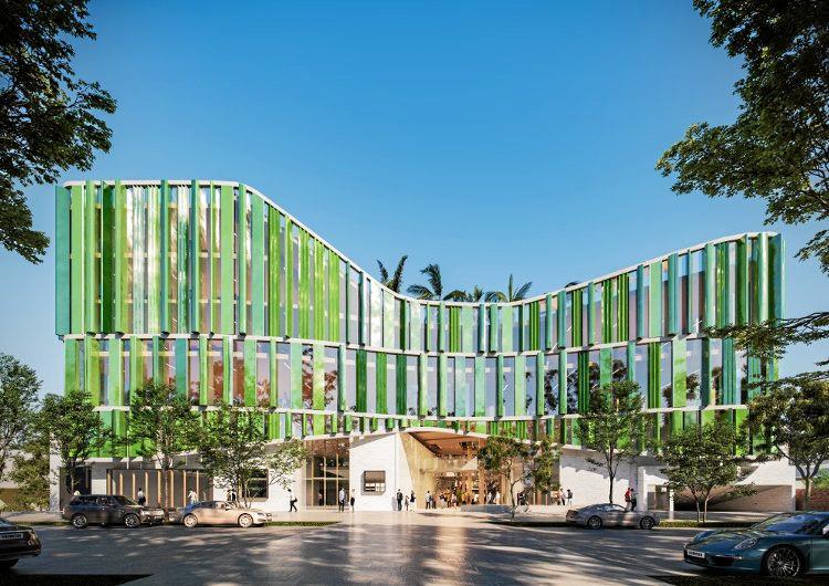Coffs Harbour City Council's design for the $76.5 million Civic and Cultural Centre.