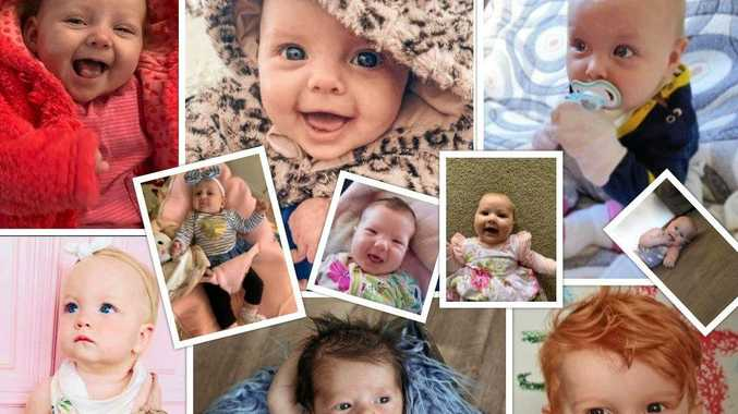 TOP 12: Vote for South Burnett's cutest baby