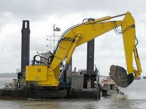 Work begins on Tweed River entrance