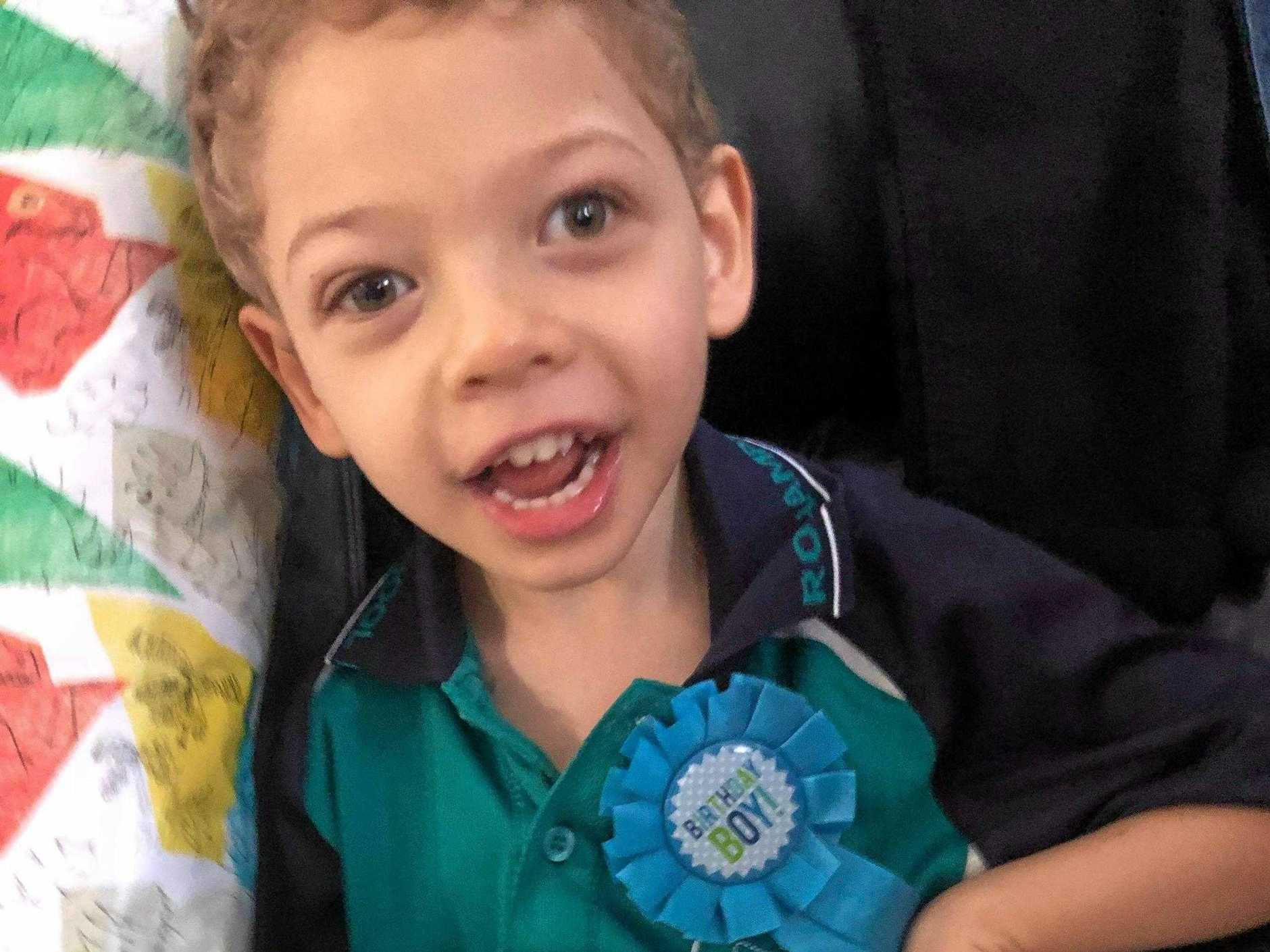 A community has rallied behind young Cooper.