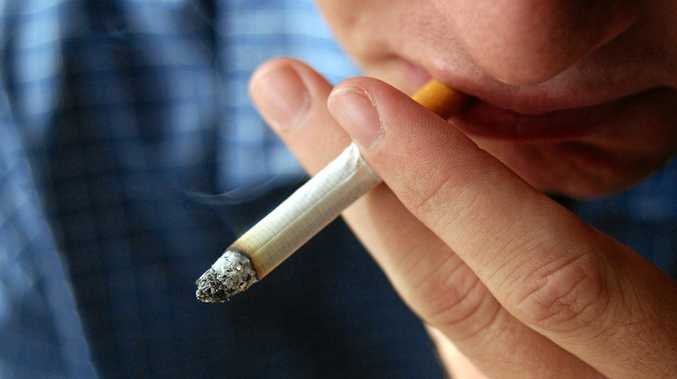 Abuser became erratic and aggressive when he couldn't smoke