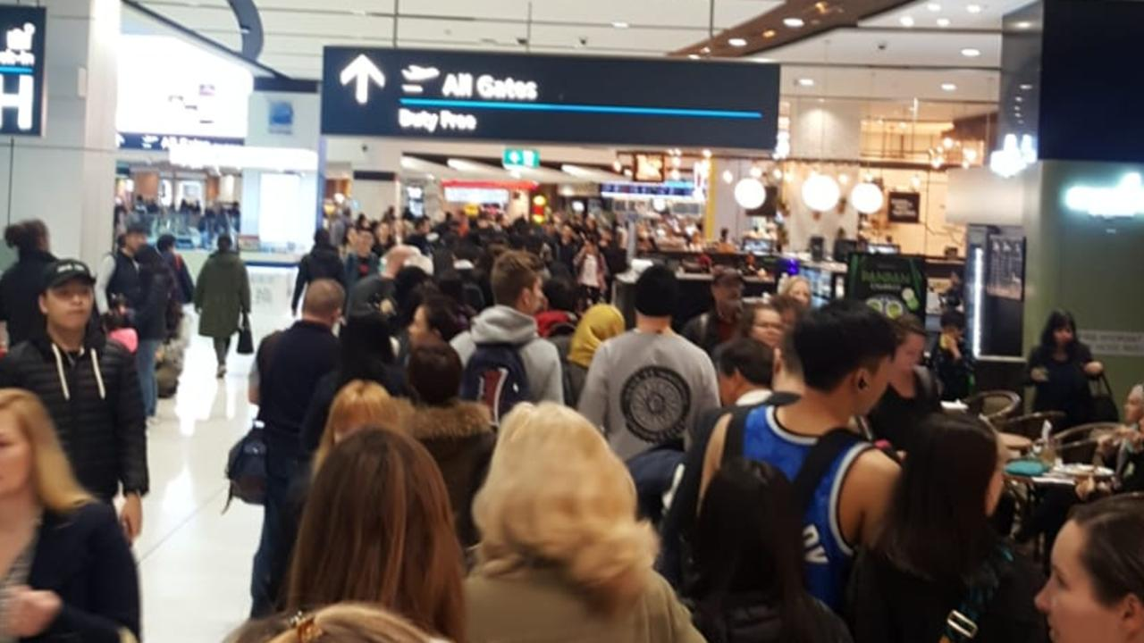 Sydney International Airport hit with massive delays