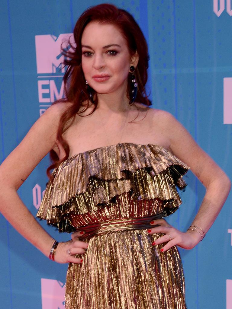 Lindsay Lohan. Picture: Dave J Hogan/Dave J Hogan/Getty Images