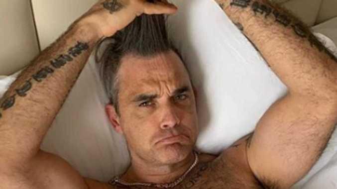 Robbie Williams' private health battle