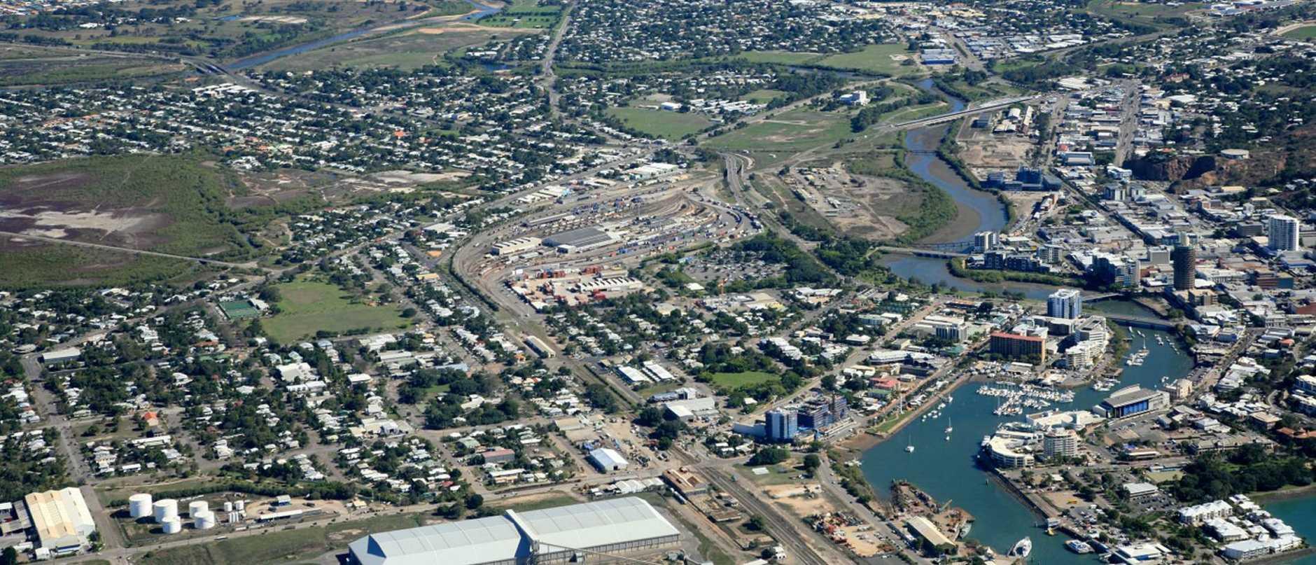 Townsville aerial shot