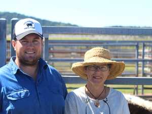 Blue Mountains residents, Travis Parry and Julie