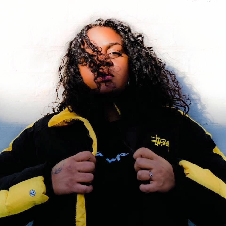 BLACK PRIVILEGE: Woorabinda woman Miiesha was named as Triple J Unearthed's Feature Artist of the Week last week