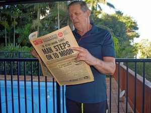 Mackay man celebrates 50 years since moon landing
