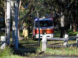 Fire at Ross Lane, Lennox Head
