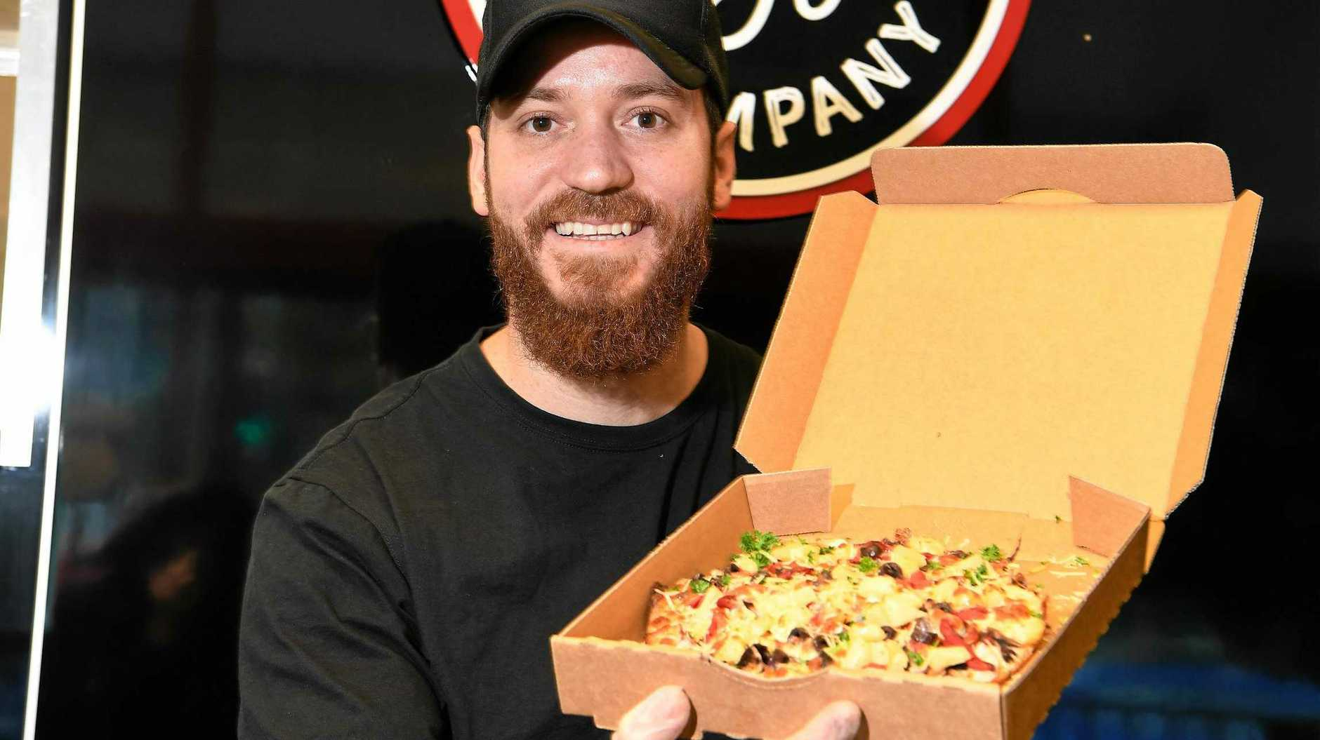 Buderim Pizza Company store manager Suan Vilches is excited about the store's recent opening.