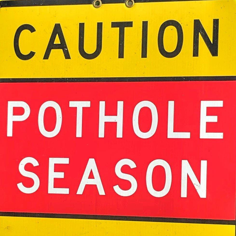 POTHOLE: Every season is pothole season here in Byron Shire.