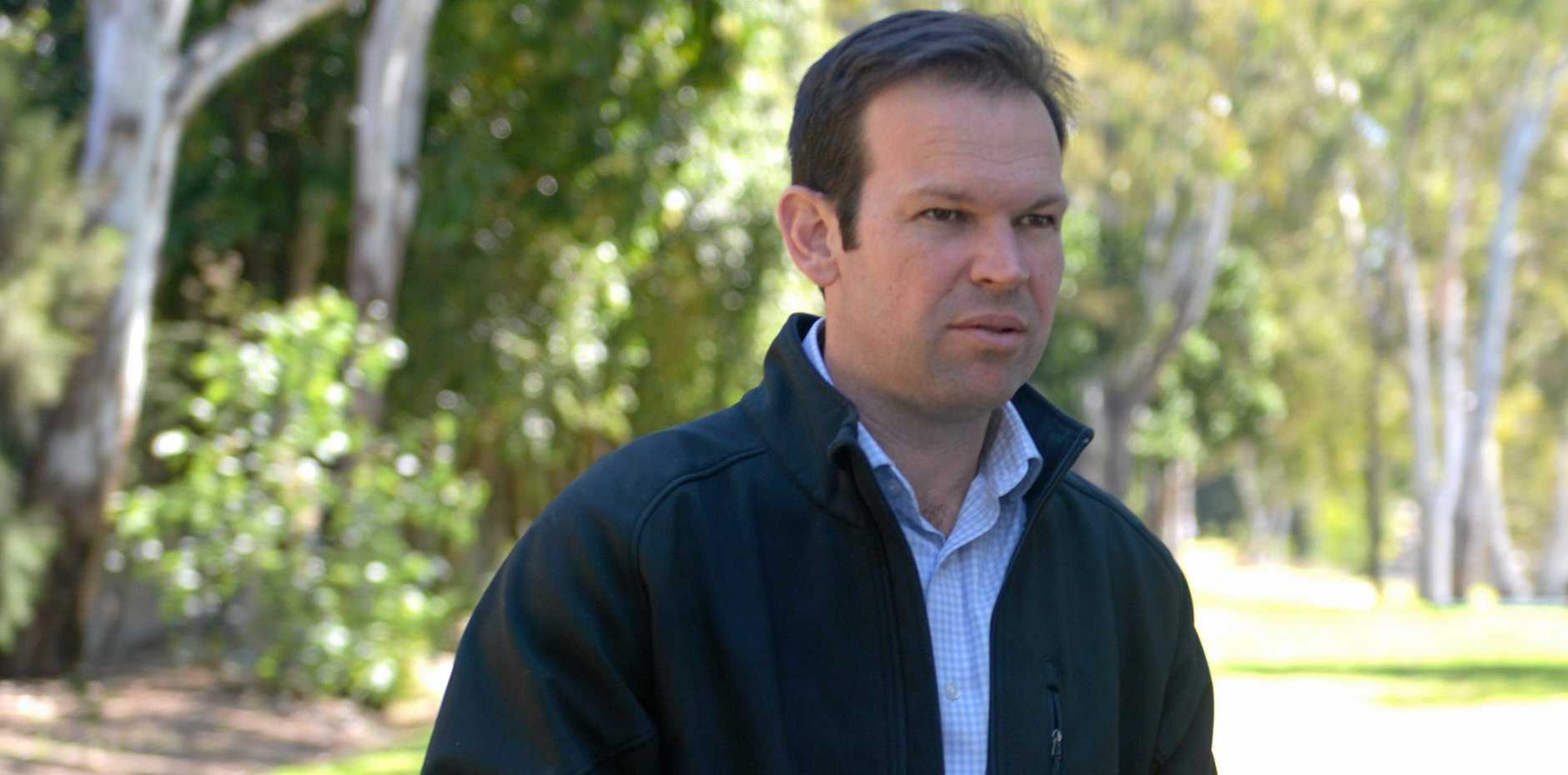 NOT IMPRESSED: Senator for Queensland Matthew Canavan has lashed out at the Queensland Government's review into the devastating bushfires that tore through parts of the state last year.