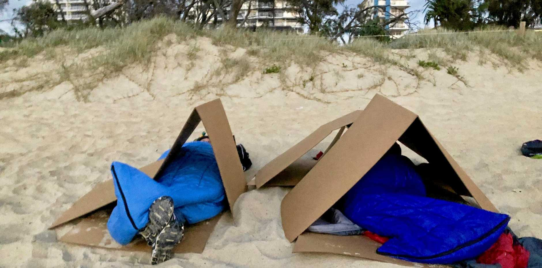 The Coast is being urged to support the Sunshine Coast Sleepout.
