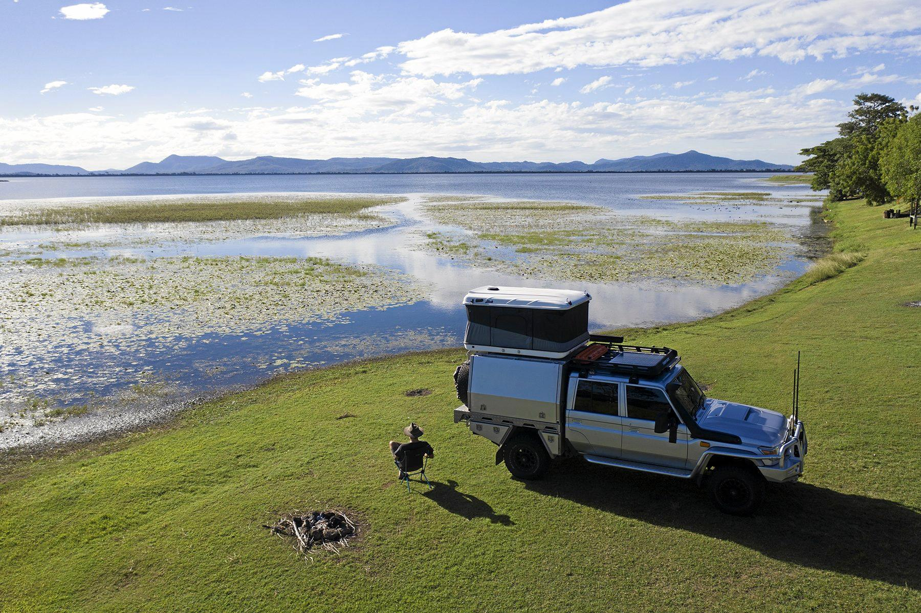 Images from photographer Sean Scott's time in the Mackay Region. Scott a Kinchent Dam.