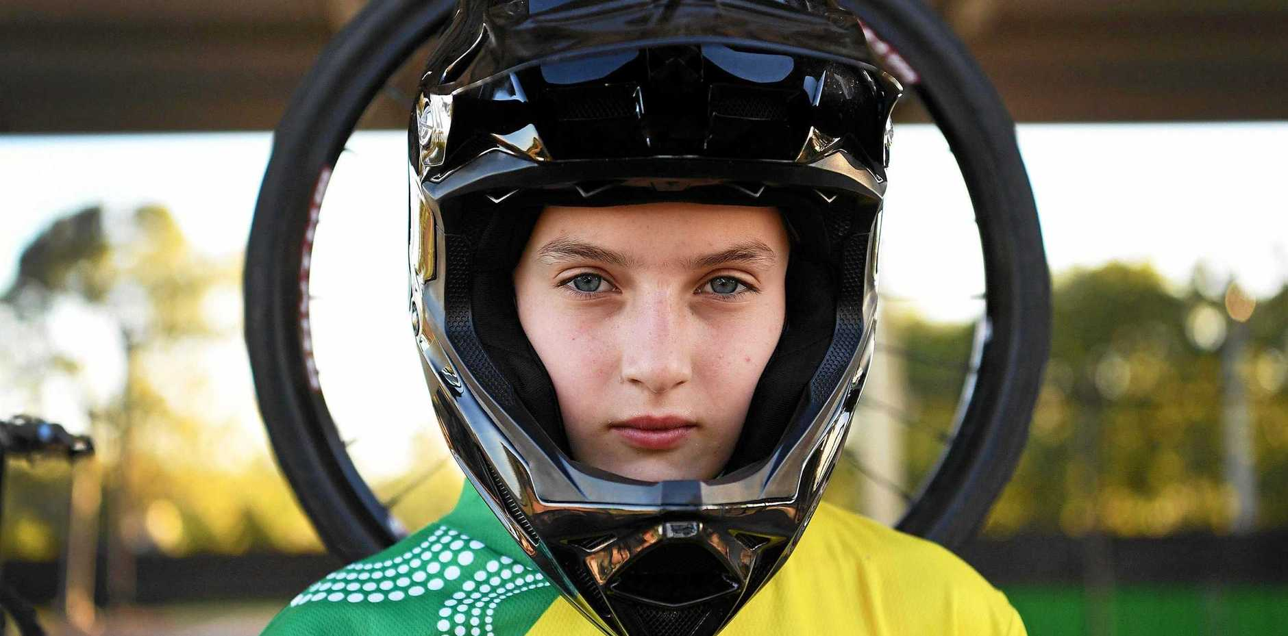 SUPERSTAR: Maryborough's Teya Rufus will be vying for the number one spot at the upcoming World BMX Championships in Belgium.