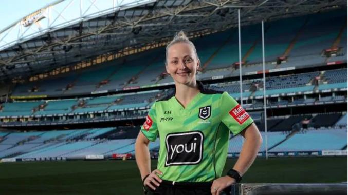 NRL makes historic call on female referee