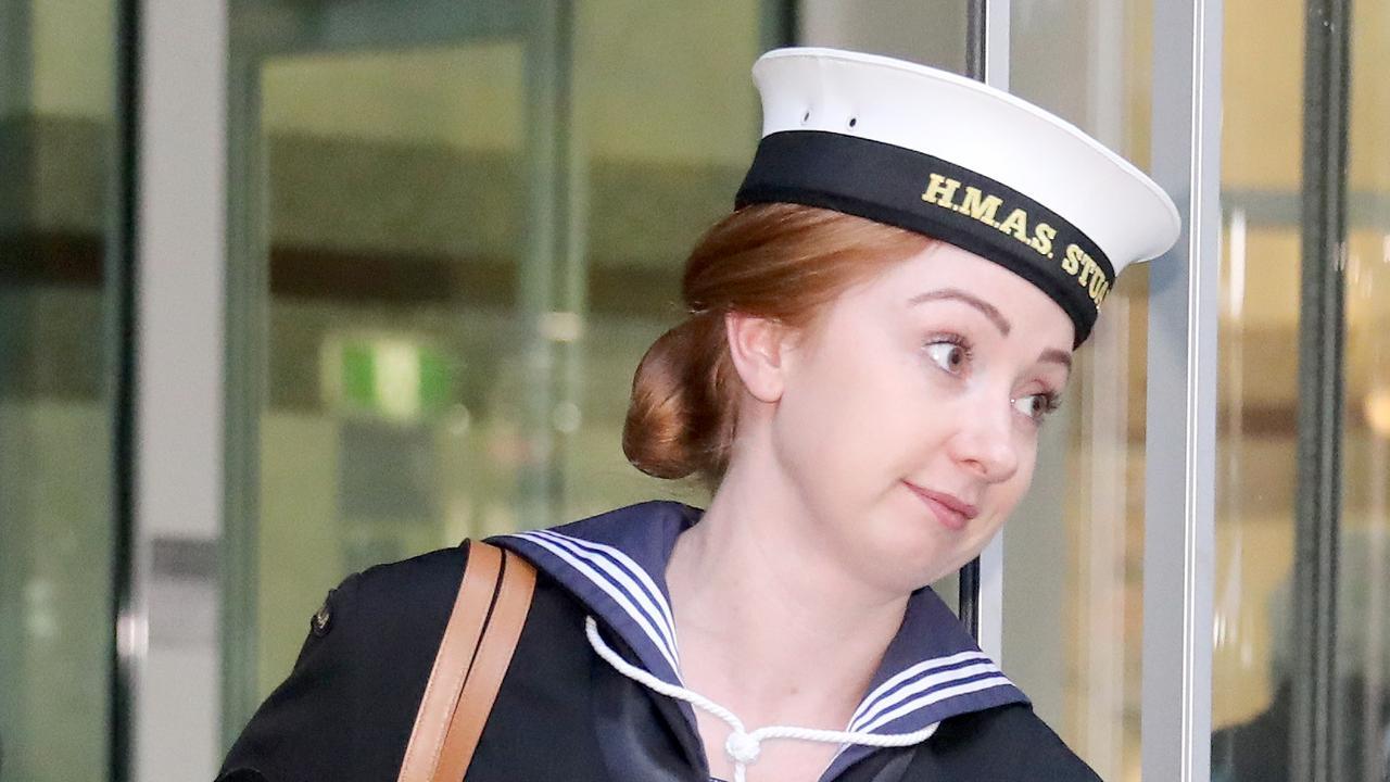Pap Able Seaman Hannah Clayton