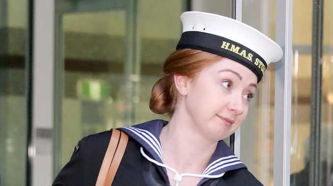 Sailor banter ends in alleged bum slap and nipple pinch