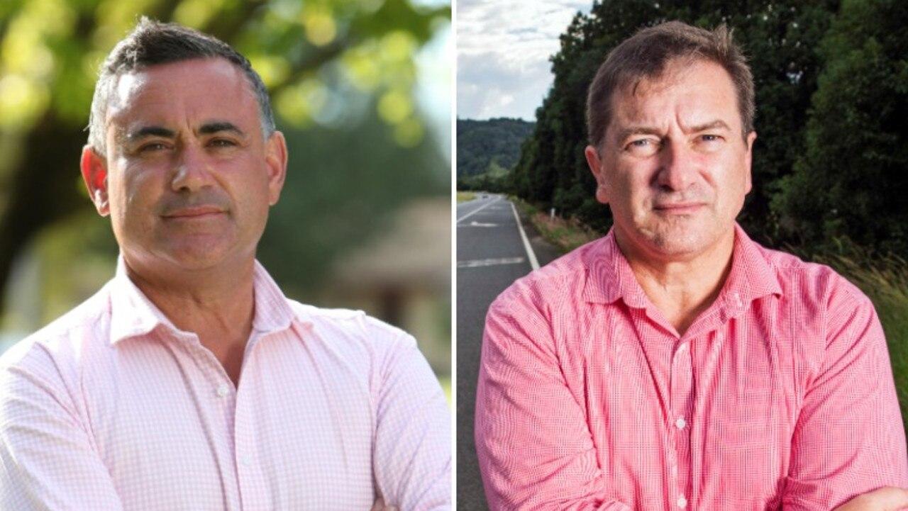 NSW Deputy Premier John Barilaro and Wide Bay MP Llew O'Brien.