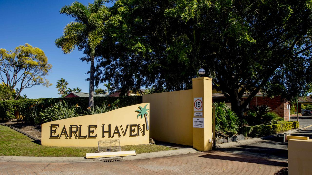 Earle Haven aged care facility in Nerang. Picture: Jerad Williams