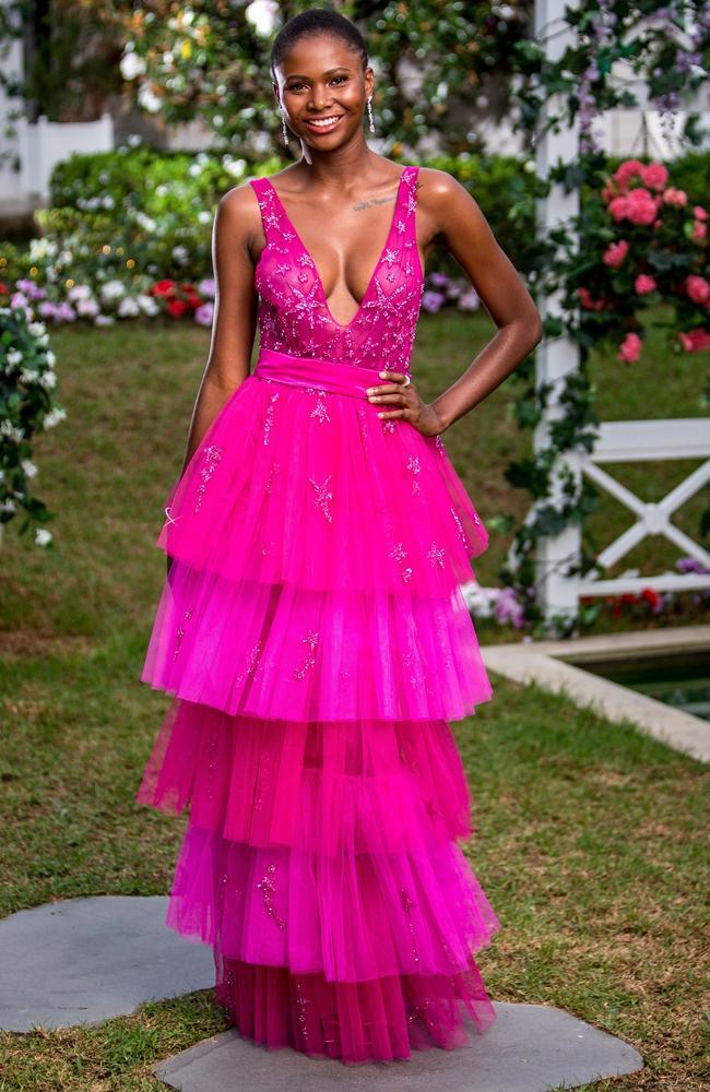 Model Vakoo Kauapirura will be vying for Matt Agnew's heart on The Bachelor. Picture: Supplied/Channel 10