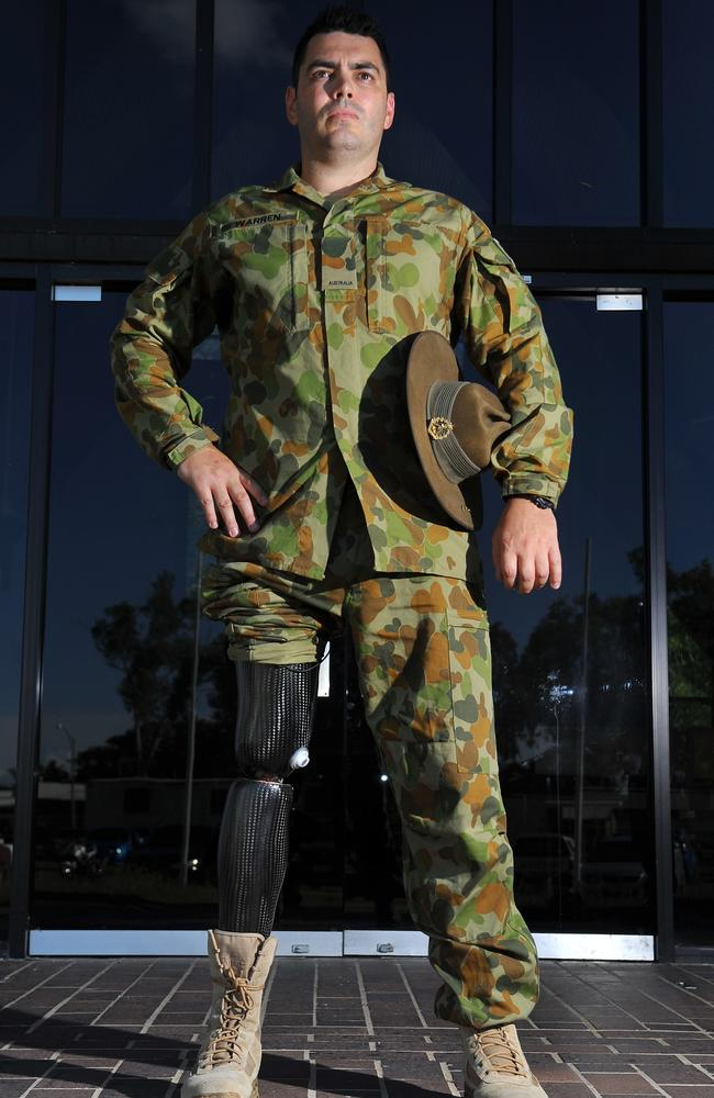 Bradley Carr was present when Private Paul Warren had his leg blown off in Afghanistan and Pte Ben Ranaudo was killed.